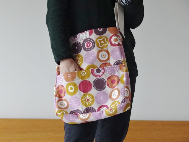 Mensager bag from Japanese Sewing Books
