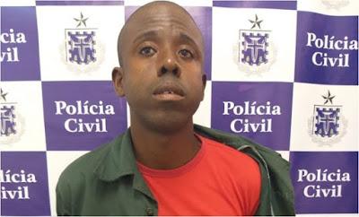 Polícia prende homem que agrediu enteada de sete meses em Salinas da Margarida