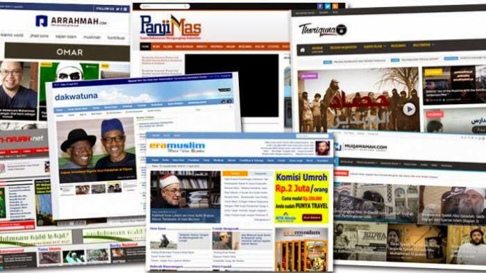 Pemerintah Harus Rehabilitasi 12 Situs Berita Islam