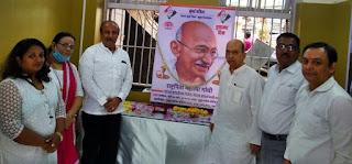 शहीद दिवस के रूप में मनाई गई महात्मा गांधी की पुण्यतिथि | #NayaSaberaNetwork