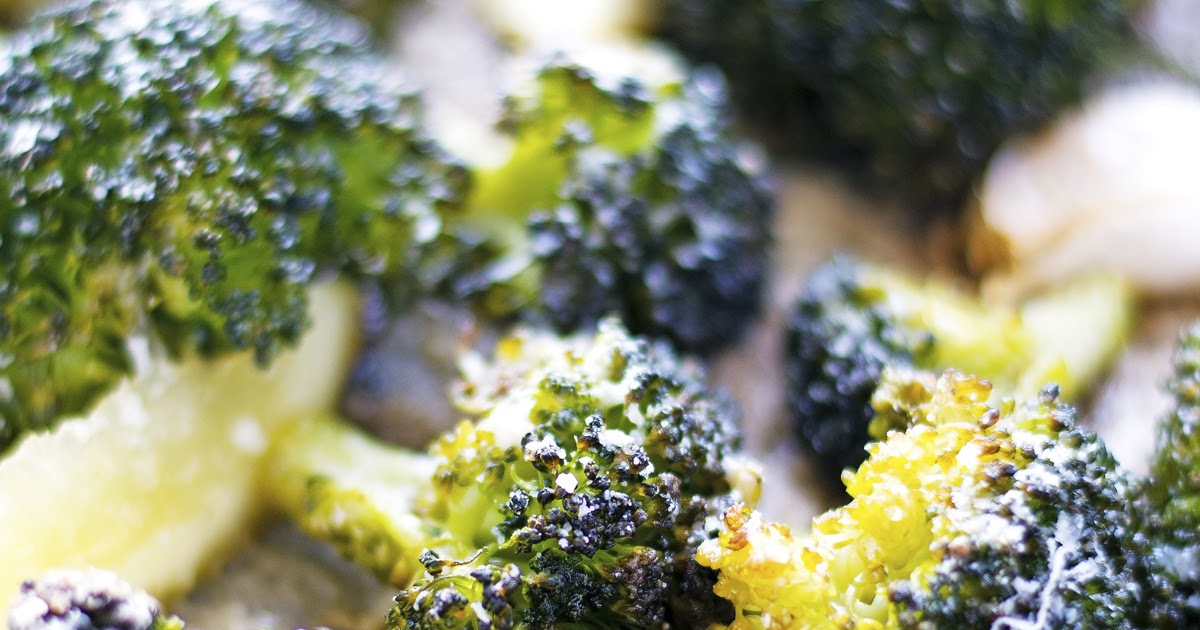 The Iron You: Parmesan Lemon Crispy Broccoli
