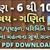 Std 6 to 10 maths formula videos and list pdf download