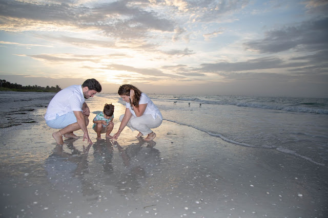Sunrise Family Portrait | Sanibel Island Photographer