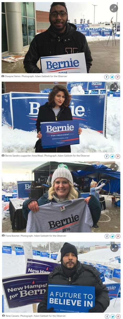 Bernie Sanders's supporters