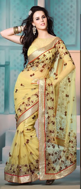 Most Beautiful Sarees With Lovely Models India Lifestyle