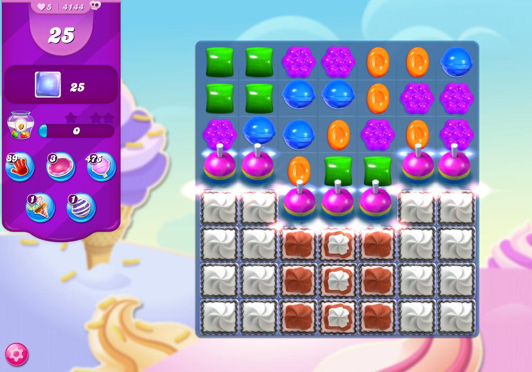 Candy Crush Saga level 4144