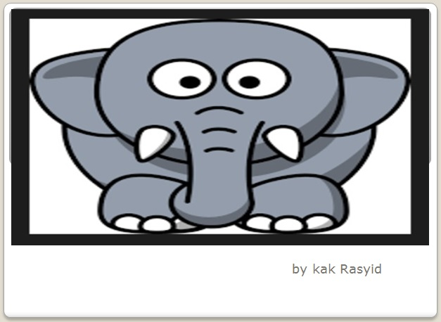 Dongeng Gajah yang Baik Hati