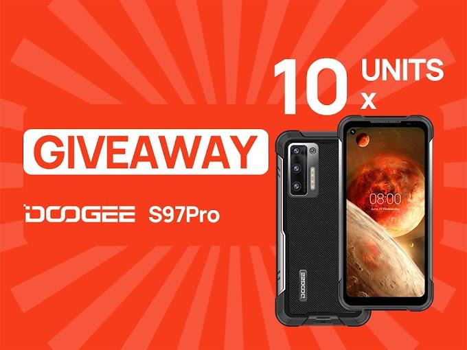 Sorteio de 10 Smartphones DOOGEE S97 Pro