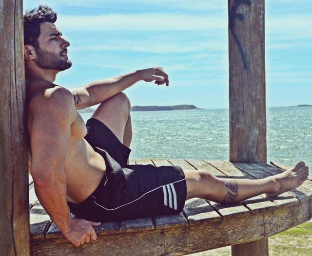 Matheus Lopes investe fundo na carreira de modelo. Foto: Junior de Oliveira e Gabrielle Toledo/Art em Foco