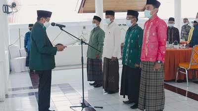 Pengurus Cabang NU Kota Sawahlunto Dilantik