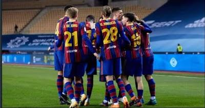 تعرف على قائمة برشلونة لمواجهة ريال سوسيداد في الدوري الإسباني