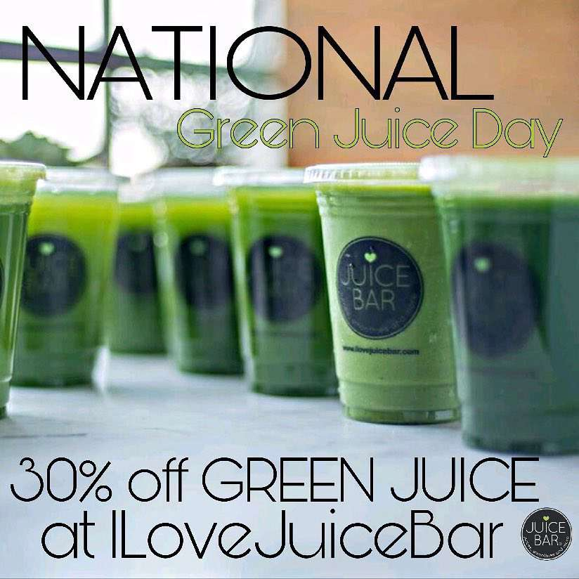 National Green Juice Day Wishes For Facebook