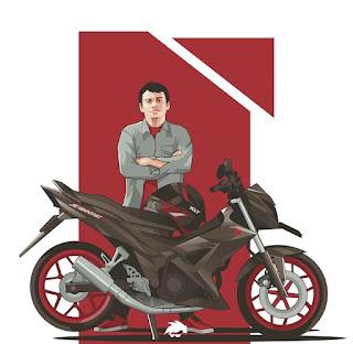 Vector Motor Honda Sonic