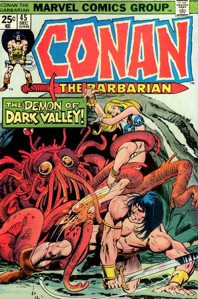 Conan the Barbarian #45