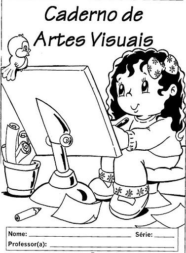 desenhos para capa de caderno escolar