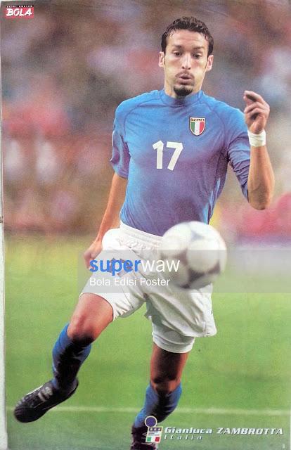 Poster Gianluca Zambrotta (Italia)