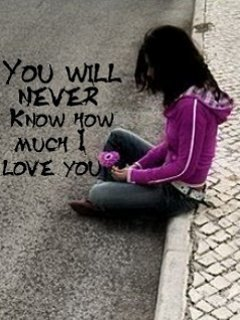 Wallpaper On The Net You Will Never Know How Much I Love You