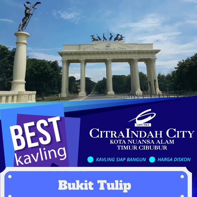 Kavling Komersil BUKIT TULIP Citra Indah City