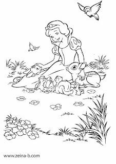 صور رسومات للتلوين للأطفال كرتون جاهزة للطباعة