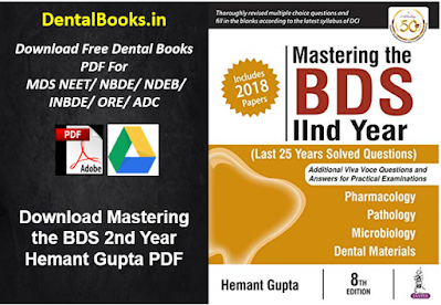 Download Mastering the BDS 2nd Year Hemant Gupta PDF
