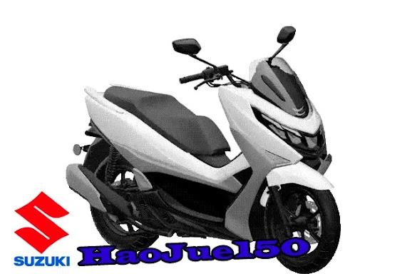 Haojue HJ150, Skutik Suzuki Pesaing PCX dan Nmax