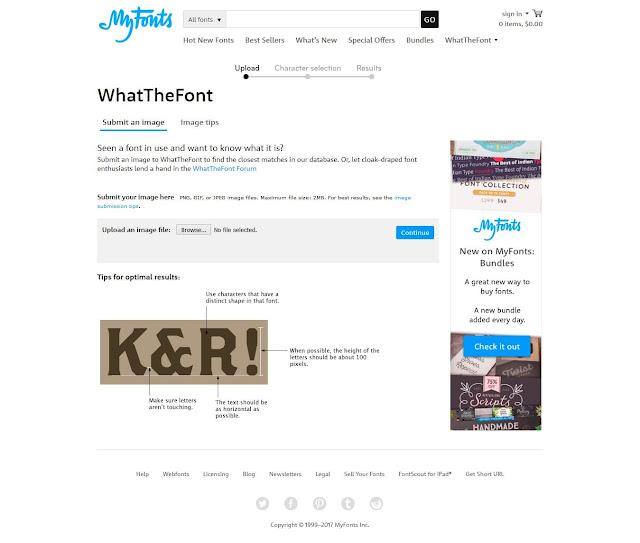 What The Font Tool Terbaik Identifikasi Mengetahui Font dari Gambar