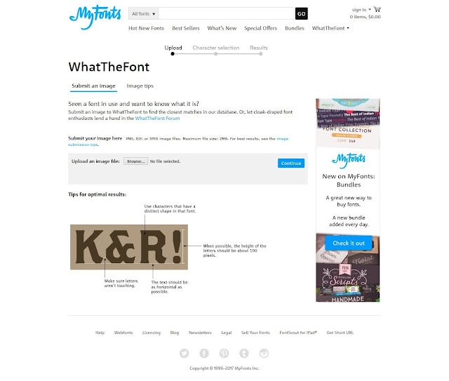 Cara Mengetahui Tipe atau Jenis Font yang Digunakan dalam Gambar -