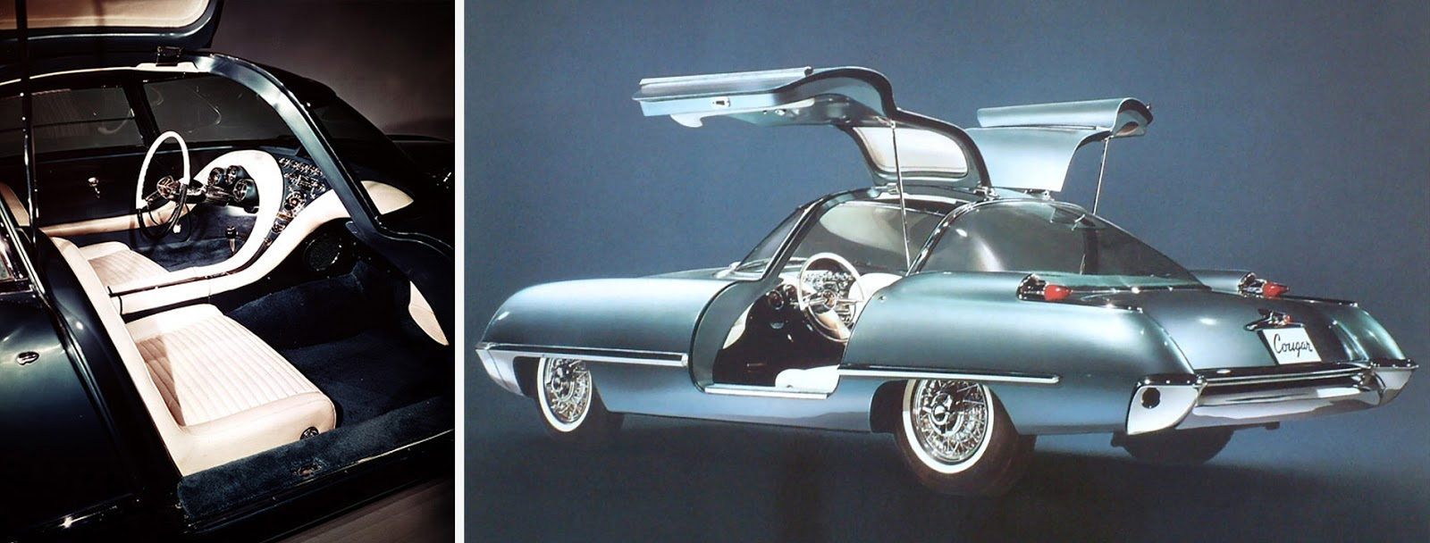 Ford cougar 406 concept 1962