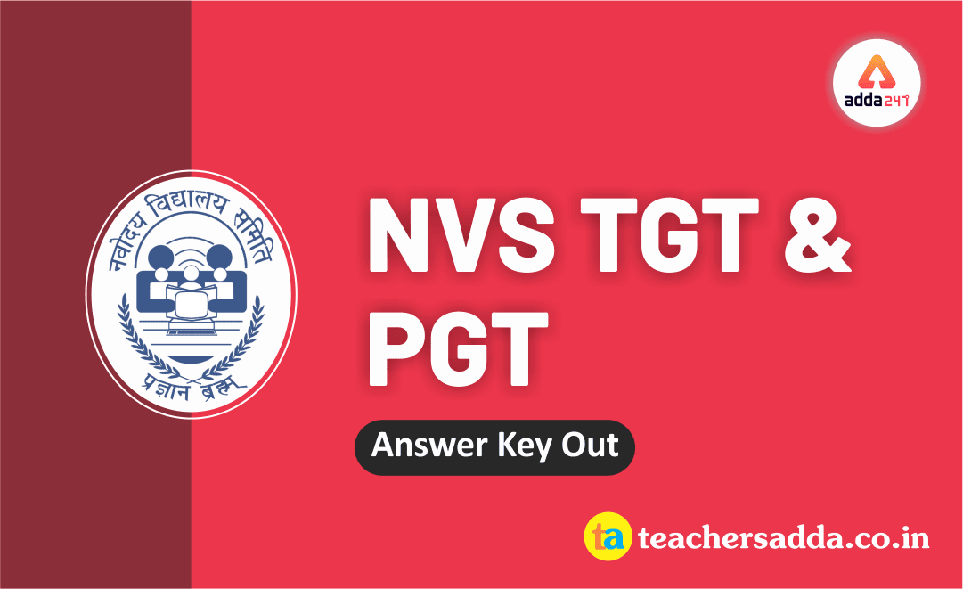 NVS 2019:PGT/TGT Answer Key Out | Check Now