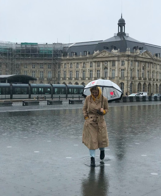 Бордо, фонтан «Водное зеркало» (Bordeaux, Water Mirror Fountain)