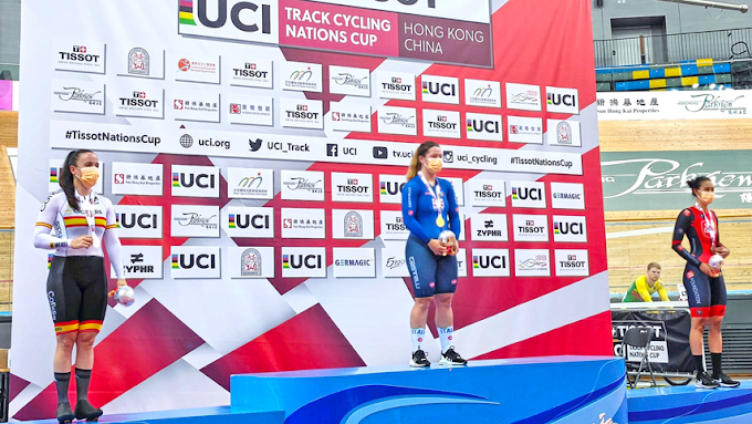 Helena Casas logró la plata en los 500 metros cronometrados de Hong Kong