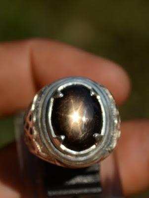 black star sapphire