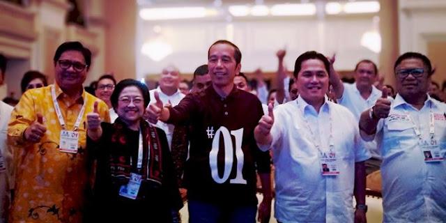 Berkaos polo #01, Jokowi hadiri Rakernas Timses di Surabaya