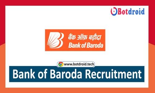 Bank of Baroda Recruitment 2021, Apply Online for BOB Job vacancy 2021