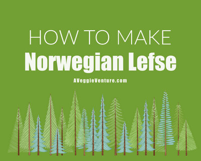 How to Make Norwegian Lefse ♥ AVeggieVenture.com with a step-by-step video, recipe and tips from expert lefse maker LeAnne Kruger.