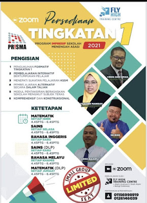 Fly High Training Centre pusat tuisyen terbaik di Malaysia