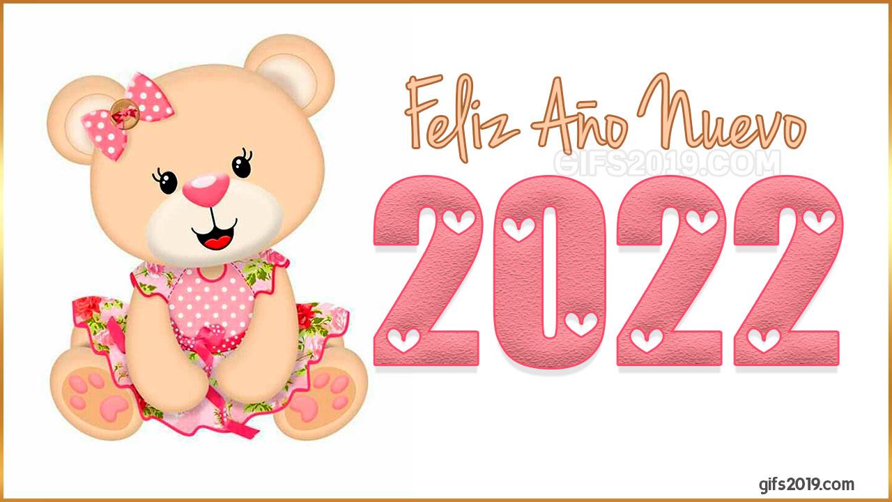 2022 feliz año nuevo fondo