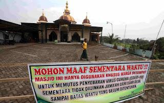 kenapa masjid dilarang shalat berjamaah
