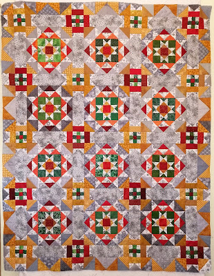 Grassy Creek quilt top