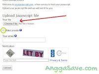 Cara Hosting Script Di Yourjavascript.com - Gratis dan Cepat