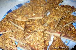 песочное печенье ореховые уголки