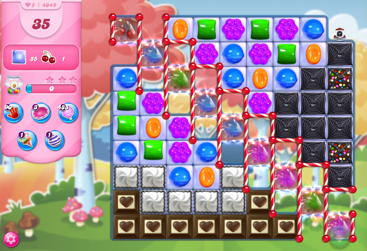 Candy Crush Saga level 4049