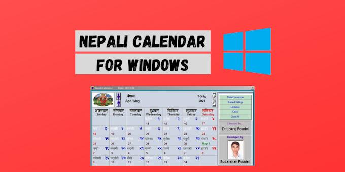 Download Latest Nepali calendar for PC (Windows 7/8/10)