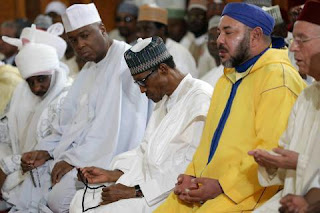 Bukola Saraki and President Buhari
