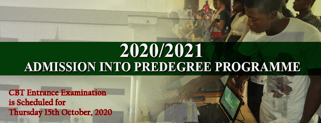 FUOYE Pre-Degree Admission Form 2020/2021 [UPDATED]