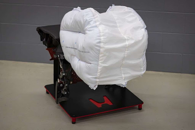 Honda desarrolla una nueva bolsa de aire que te envolverá
