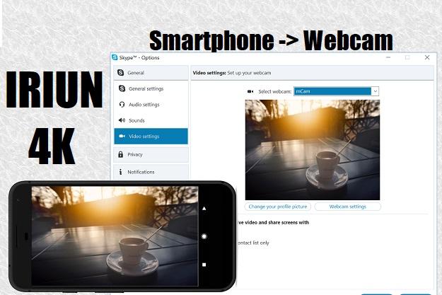 Iriun 4K - Μετέτρεψε το κινητό σου σε webcam για υπολογιστές Windows, Linux και Mac