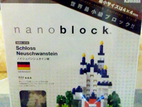 Nanoblock ~ Schloss Neuschwanstein