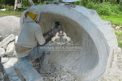 Pembuatan Bath-Up Marmer