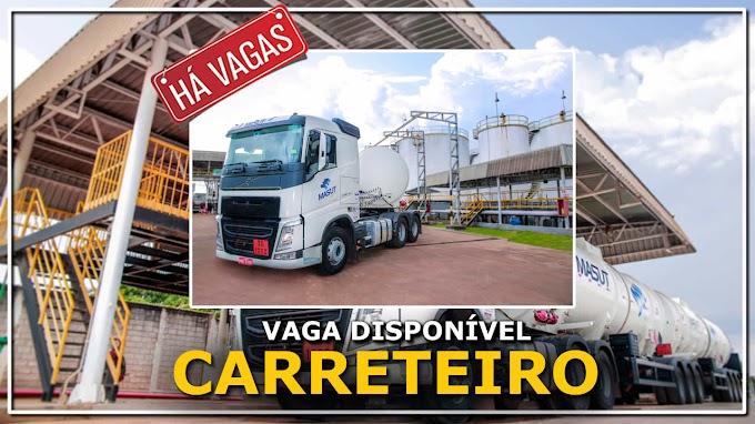 Masut Transporte abre vaga para Motorista Carreteiro